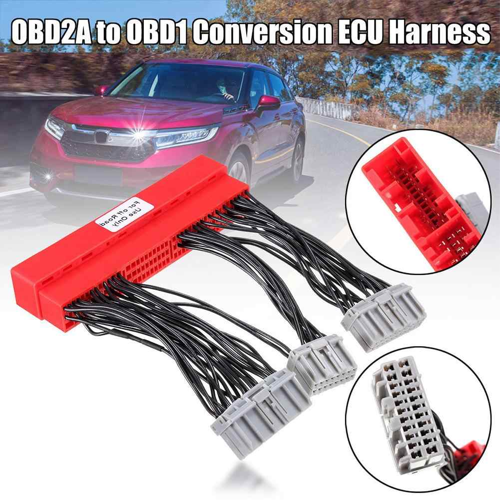 hight resolution of new car vehicle obd2a to obd1 jumper conversion ecu harness driving computer wiring harness for honda