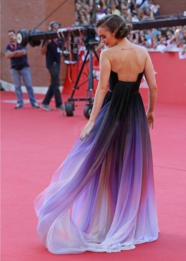 Asombroso Vestidos De Dama De Gasa Con Tirantes Ideas Ornamento ...