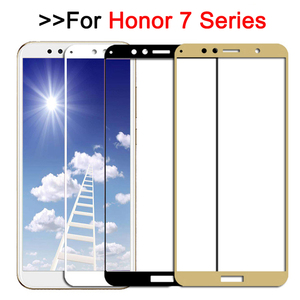 Защитное стекло на весь экран для Huawei Honor 7a 7c pro 7x, закаленное стекло для Huawei Honor 7a c x