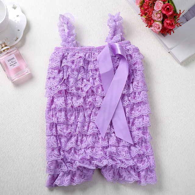 Baby Girl Lace Rompers Infant Lace Romper