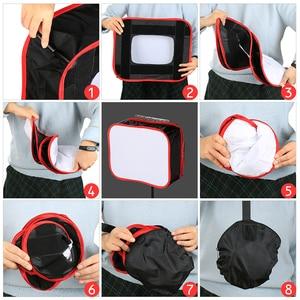 Image 5 - SB600/SB300 Studio Softbox Diffuser for YONGNUO YN600L II YN900 YN300 YN300 III Air Led Video Light Panel Foldable Soft Filter