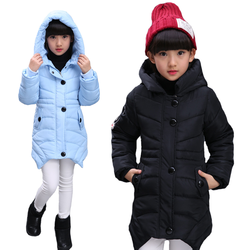 Winter Jacket For Girls 2018 New Girls Down Coat Children Clothing Hooded Outerwear Girl Jacket Kids Clothes 6 8 10 12 14 Year fashion children girls winter coat long down jacket for girl long parkas zipper outerwear kids jackets 5 6 7 8 9 10 12 13 14 y