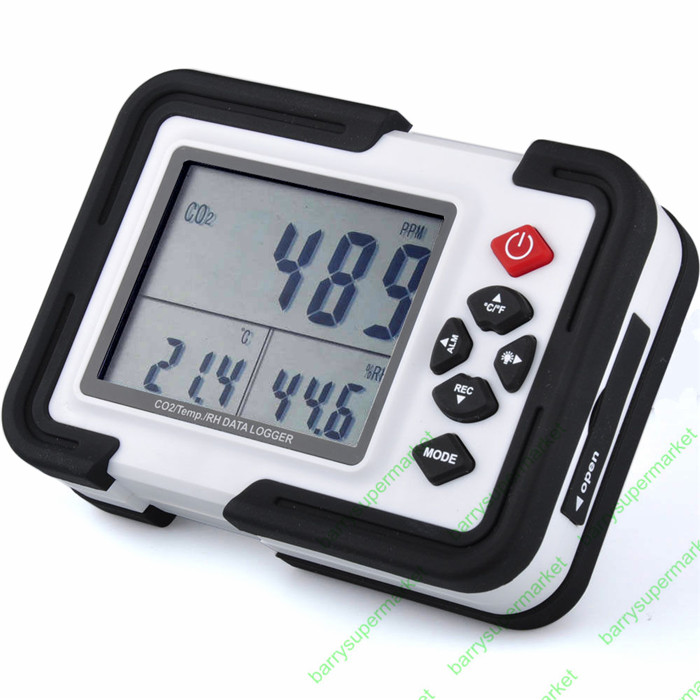 co2 Monitor co2 Meter Gas Analyzer gas Detector co2 Analyzers 3in1 Temperature Relative Humidity co2 detector HT-2000 XINTEST digital indoor air quality carbon dioxide meter temperature rh humidity twa stel display 99 points made in taiwan co2 monitor