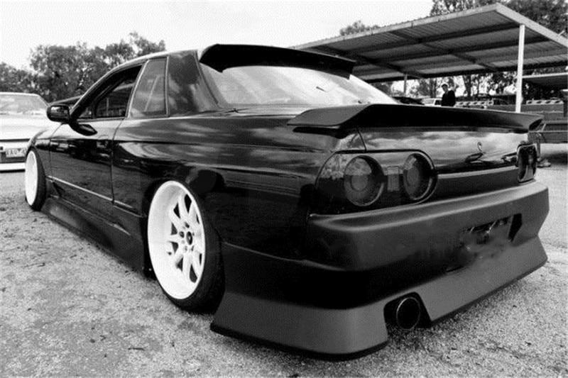 FRP OEM Style Rear Trunk Spoiler Wing For 1989-1994 Nissan Skyline R32 GTR GTS