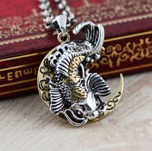 Black silver jewelry wholesale 925 sterling silver jewelry fish every year silver small character 029933w