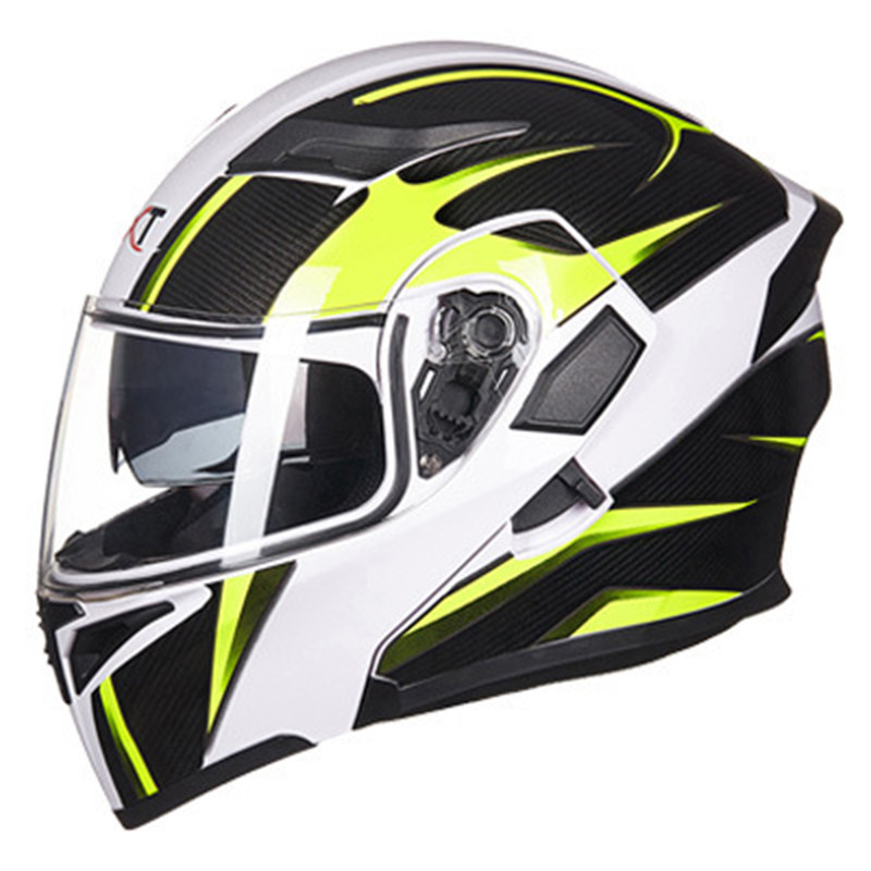 GXT Flip Up Motorcycle Helmet With Inner Sun Visor Modular Riding Moto Helmets Men's Off Road Downhill DOT Racing Helmet Casco for top gear the stig helmet with silver visor tg collectable like simpson pig yellow motorcycle helmet you re the stig