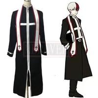 My Boku no Hero Academia My Hero Academia Shoto Todoroki Cosplay Costume Halloween Carnival Priest Uniforms Custom Made