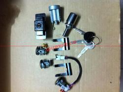 QDAEROHIVE Cylinder zamka i zestaw kluczy dla Mitsubishi PAJERO MONTERO II 2nd V32 4G54 MR259111 jeden cały zestaw cena