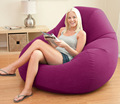 Sex Furniture  Soft Flocking Single Backrest Inflatable Sofa for sex relax,Lounge chairs adult sex products