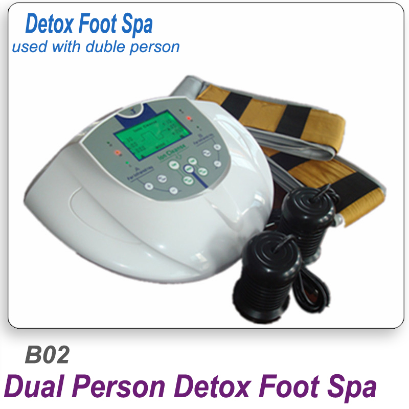 Negative Ion Detox For duble persons Dual Negative Ion Foot Spa Double With Infrared Belt B02 Foot Massage Footbath SPA Negative negative ion detox foot spa machine for two persons ion cleanse detox foot spa dual screen display with infrared belt relaxation