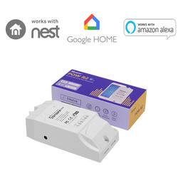 Sonoff Pow R2 Беспроводной Смарт Wi-Fi переключатель ON/Off 16A с реальным временем Мощность потребление тока измерения 3500 Вт IOS Android