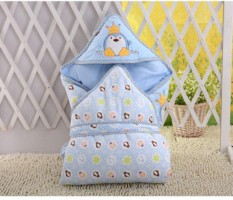 0-6month whiter Baby blanket wrap double layer fleece baby swaddle bebe envelope sleeping bag for newborns baby bedding blanket
