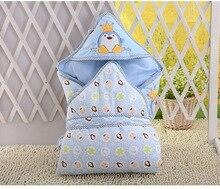 купить 0-6month whiter Baby blanket wrap double layer fleece baby swaddle bebe envelope sleeping bag for newborns baby bedding blanket дешево
