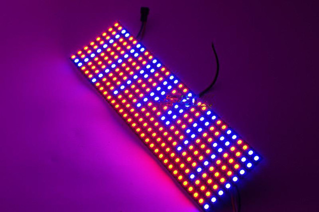 8*32 256 Pixels WS2812B WS2812 adresseerbare Full magic kleur Digitale Geprogrammeerd Led-paneel Scherm licht dot matrix display 5 V
