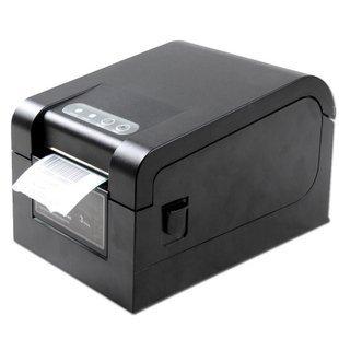 Envío de dhl 8 unids XP330B usb impresora de código de barras térmica directa impresión envío etiqueta software de edición