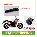 Cfmoto cf moto 650cc bobina de ignição ignitor cf650nk motocicleta acessórios frete grátis