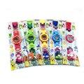 Children's Watch Japanese Movie&TV Building Blocks Original Box Watch Bricks Pikachu Pokeball Baby Gifts