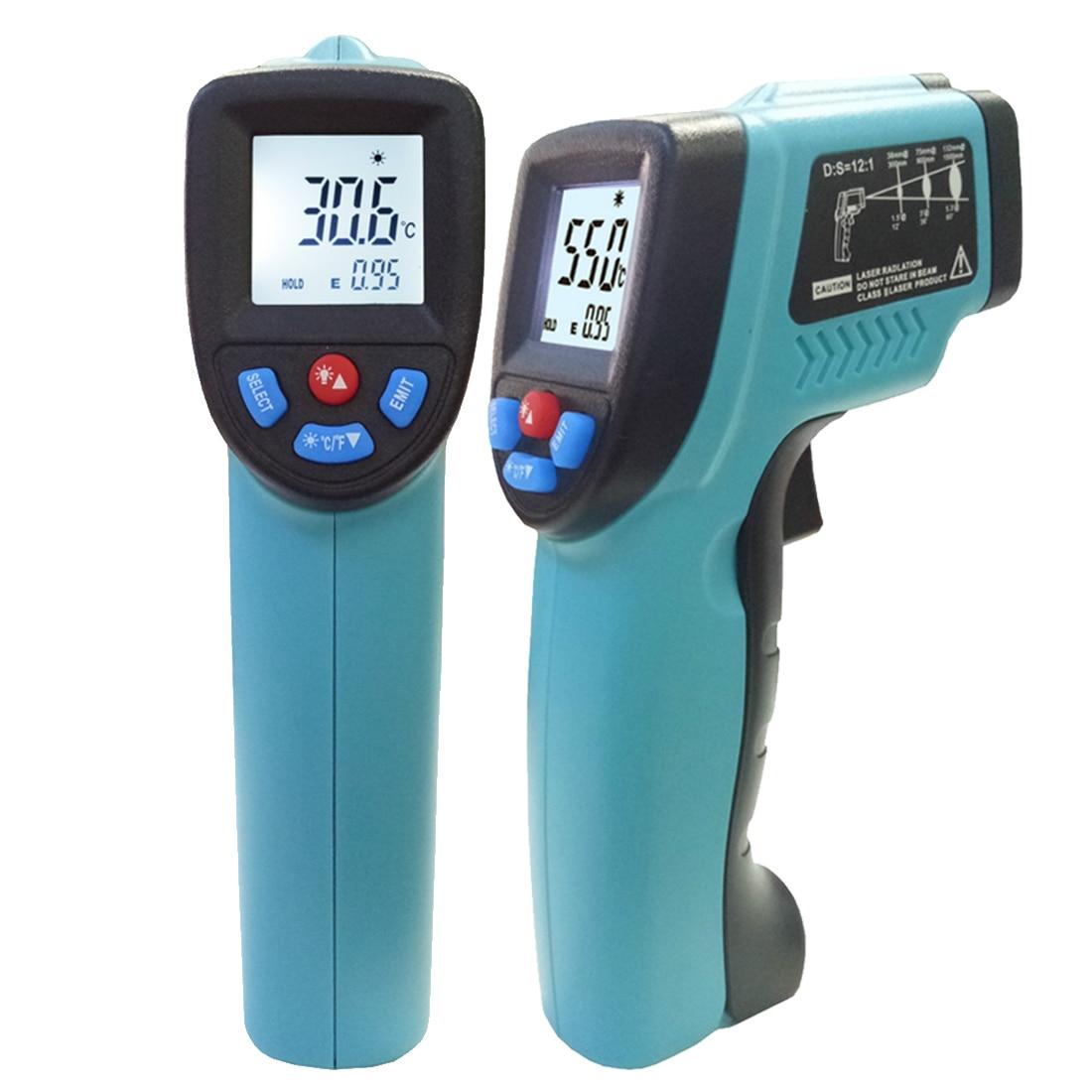 GM550 -50~550 C Digital infrared Thermometer Pyrometer Aquarium laser Thermometer Outdoor thermometer