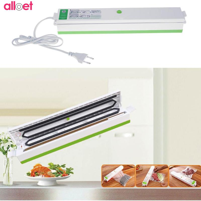 Best Electric Film Vacuum sealer food packaging Machine 110 220 V Automatic machine Household Kitchen home vacuum sealer PackerBest Electric Film Vacuum sealer food packaging Machine 110 220 V Automatic machine Household Kitchen home vacuum sealer Packer