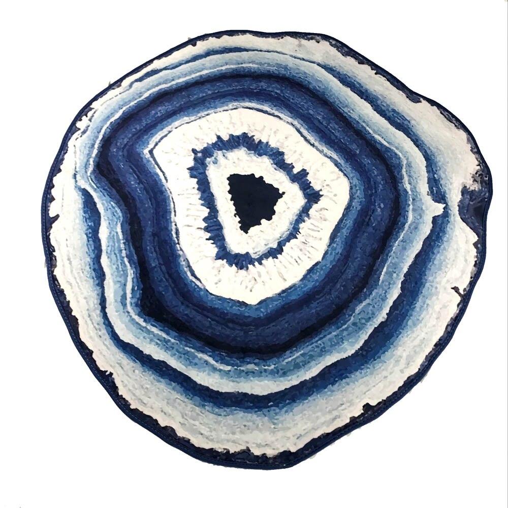 Große Teppiche Blau/Lila/Grau/Gelb Gestreiften Teppich und Teppich ...