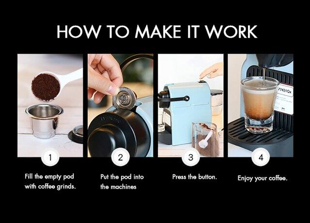 Nespresso Refillable Capsule Crema