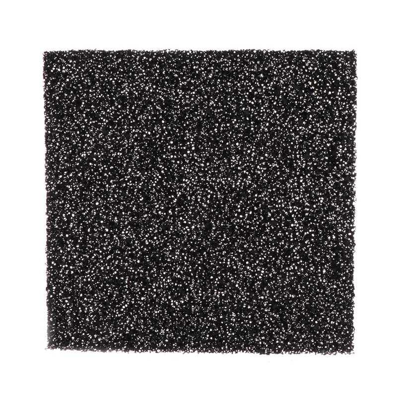espuma fina y gruesa almohadillas de filtro de carbono para bomba de 50 piezas elemento de filtro para compresor de aire Esponja de filtro adaptable