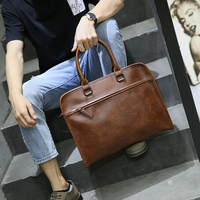 Men S Good Leather Laptop Bags 13 3 Brown Leather Briefcase For Men Leather Computer Bag