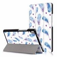 Tablets Case For Lenovo TAB4 8 Plus PU Waterproof Shockproof Drop Resistance Anti Dust Full Body