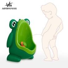 Baby Boy Potty Toilet Training Frog Children Stand Vertical