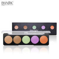 IMAGIC Full Cover Pro Makeup Concealer Cream Face Cover Contour Makeup Facial Natural Cosmetic