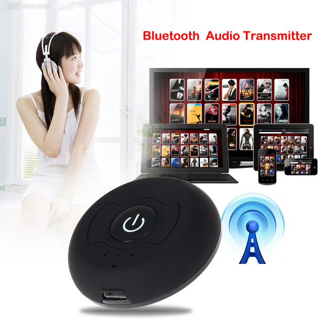 YCDC para receptores de Bluetooth V4.0 Bluetooth Transmisor de Audio Inalámbrica de Múltiples puntos H-366T Música Estéreo Dongle Adaptador HiFi DVD