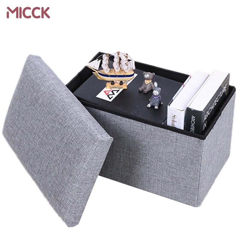 MICCK Multifunctional cotton spinning storage box Clothing organizer Environmental protection modern Children's Toys Sorting Box