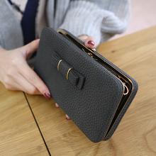 2017 Luxury Brand Women Long Wallet Purse Wallet Female Famous Brand Card Multi-Card Bit Gifts For Women Money Bag Mobile Wallet