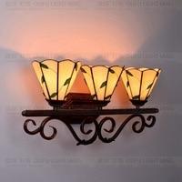 Tiffany barroco vintage vitral ferro sereia lâmpada de parede iluminação interior lâmpadas cabeceira luzes parede para casa ac 110 v/220 v e27 wall lights for home wall light lights for home -