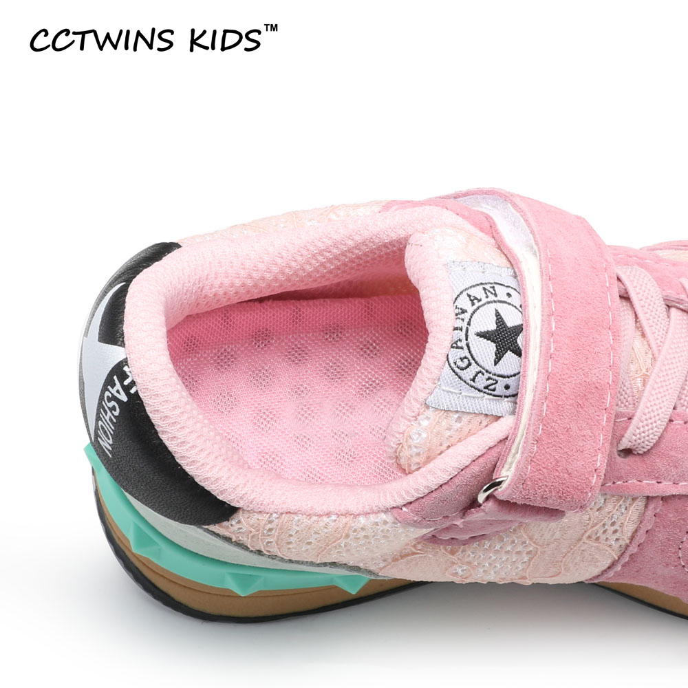 CCTWINS-KIDS-2017-spring-baby-boy-lace-flat-trainer-children-fashion-black-breathable-shoe-girl-brand-casual-sneaker-stud-F1215-4