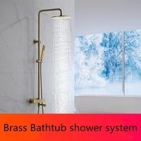 Латунь Intelligent Термостатический душ ванна наконечник смесителя термостатический смесительный клапан Душевая система автономный Смесители