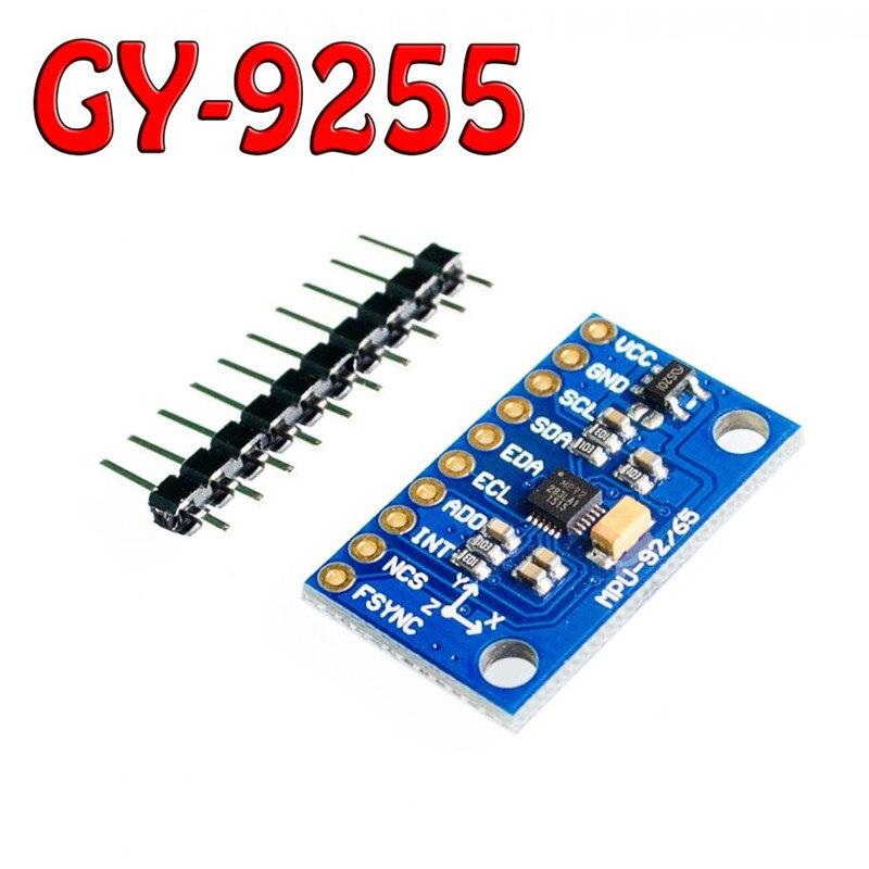 1 pcs GY-9255 MPU9255 Capteur module substitution MPU9250 MPU9150