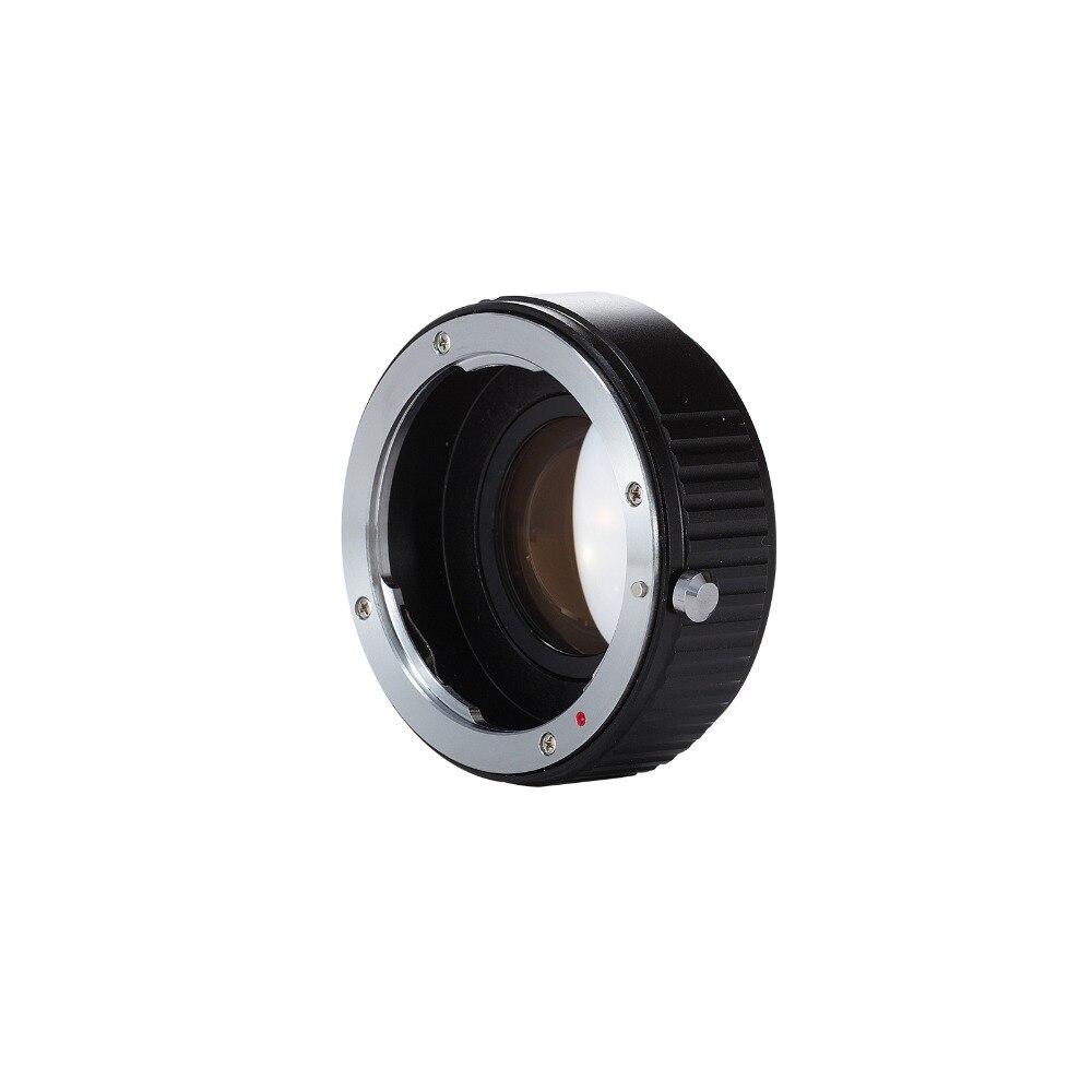 Meking PK-NEX Réglable Focale Ouverture Réducteur Vitesse Booster Adaptateur Pentax Lens pour NEX