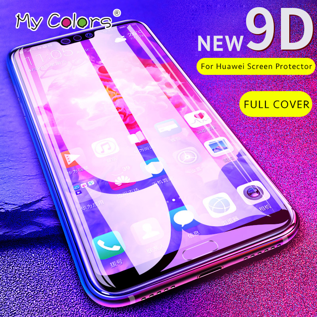 NEW 9D HD Glass For Huawei p20 lite glass p20 pro p8...