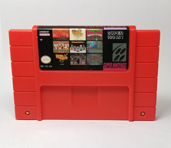 Super 100 in 1 Game Cartridge Batman Robin Castlevania IV Clay Fighter Contra III Cotton Ultimate Mortal Kombat Megaman X Hagane