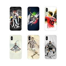 Accessories Phone Cases Covers Del Piero New Arrival For Apple iPhone X XR XS MAX 4 4S 5 5S 5C SE 6 6S 7 8 Plus ipod touch 5 6