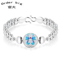 H392 // Wholesale hot sale Factory Price Bracelet, fashion 925 jewelry Chain silver plated Bangle / Bracelet