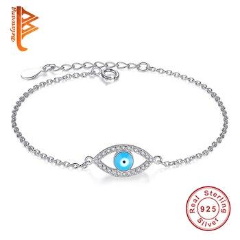 42b269d4c24c BELAWANG redondo grano de cristal de CZ Charm fit Pandora 925 pulseras de  plata del encanto Original ...