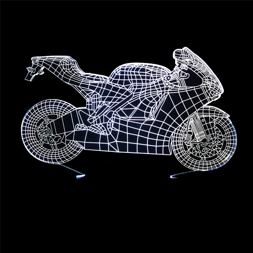 motorcycle 3D night light (7)