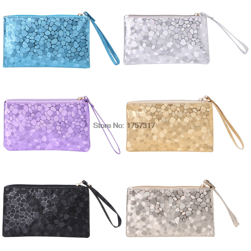 THINKTHENDO Women Glitter Sequins Handbag Party Evening Envelope Clutch Bag Wallet Purse New luxury crystal clutch handbag women evening bag wedding party purses banquet