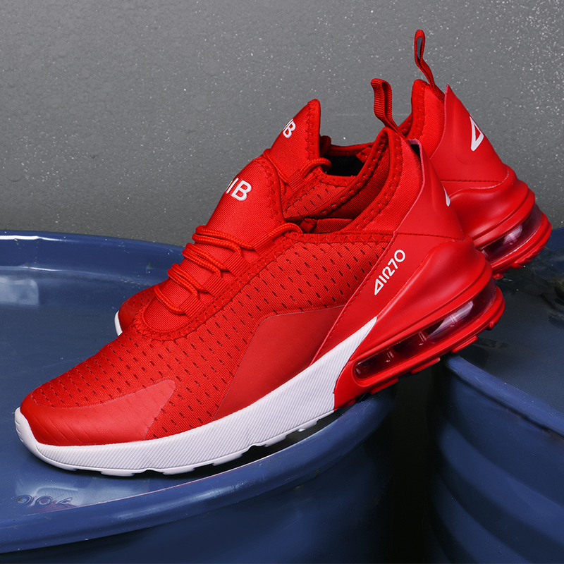 Beautiful Red Sneaker Hot New 270 Air Cushioning Running Shoes Men Casual Outdoor Sport Jogging Comfortable Mesh Breathable CoolBeautiful Red Sneaker Hot New 270 Air Cushioning Running Shoes Men Casual Outdoor Sport Jogging Comfortable Mesh Breathable Cool