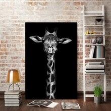 Nejprodávanější Morden Animal Canvas Painting Nástěnné obrázky pro obývací pokoj Art Decoration Obrázky No Frame
