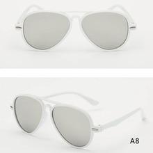 2019 Childrens Fashion Trend Sunglasses Outdoor Glasses Color Lens Anti-UV Retro Classic New Hot