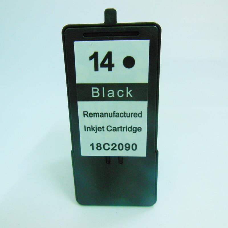 1set Black Color For Lexmark 14 15 Ink Cartridges for lexmark14 15 For Lexmark Z2300 Z2320 X2650 X2600 X2670 Printer ink in Ink Cartridges from Computer Office