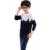 Moda Bebê Menino Camisola de Lã Pullover Roupas Infantis Menino Roupas Para Meninos Roupas Íntimas de Malha Tops Blusas Criança